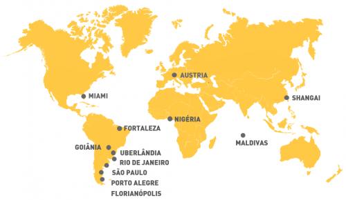 mapa projetos
