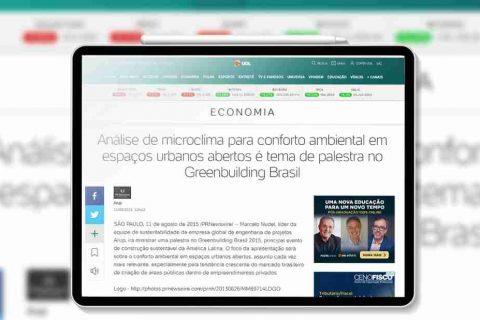 pagina principal da máteria do uol economia