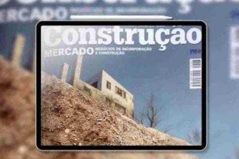 capa da revista construção